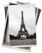Alte Photo Eiffelturm in Paris