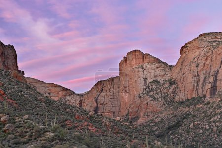 Twilight, Apache Trail, Tonto National Forest