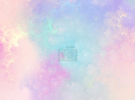 Illustration for Abstract background, sky, clouds, vector illustration - Royalty Free Image