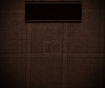 dark Background of textile texture. Close up