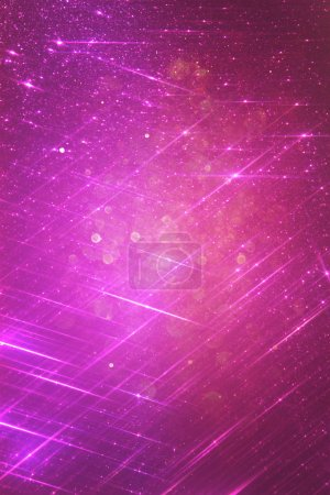 Purple and pink abstract bokeh lights. defocused background