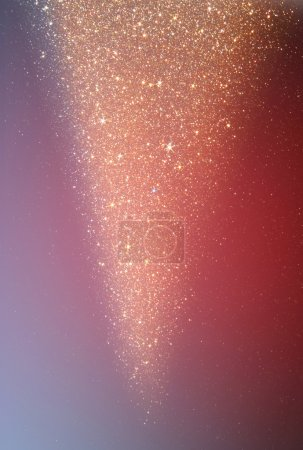 Foto de Fondo de luces bokeh con múltiples capas y colores blanco plata y rosa. - Imagen libre de derechos