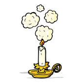 cartoon antique candleholder