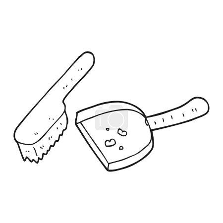 clean brush doodle