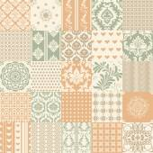 Set of 25 ornamental seamless patterns