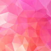 abstract background consisting of pink triangles vector illustration
