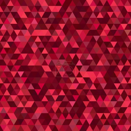 Abstract background consisting of triangles. Geometric design for business presentations or web template banner flyer. Illustration pattern. Ideal for printing onto fabric and paper or decoration.