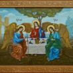 Trinity icon, religion, Christianity, Orthodoxy...