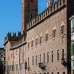 MANTUA, ITALY - APRIL 29 2016: Palazzo Bonacolsi w...