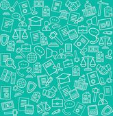 Legal services background  green