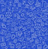 Legal services blue background seamless
