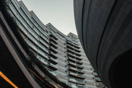 modern building with spherical construction, Istanbul, Turkey