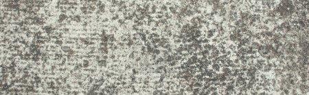 Photo pour Surface texturée non polie, pierre grise, vue du dessus, bannière - image libre de droit