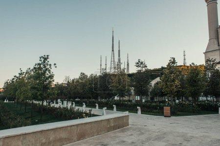 park near Mihrimah Sultan Mosque, Istanbul, Turkey