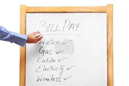 Pay utility bills
