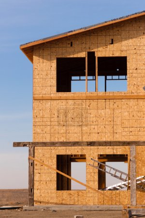 New Construction Houses Going Up Fast North Dakota Oil Boom