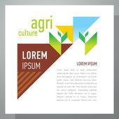 Agriculture template design