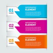 modern number list infographics  banner