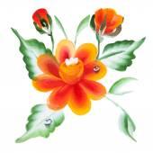 Watercolor Vector Flowers Vector Watercolour Flowers