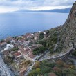 Top view of Monemvasia, Greece....