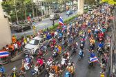 Thai szurkolók ünneplik