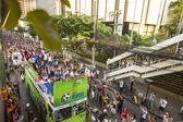 Thai szurkolók ünneplik megnyerése után