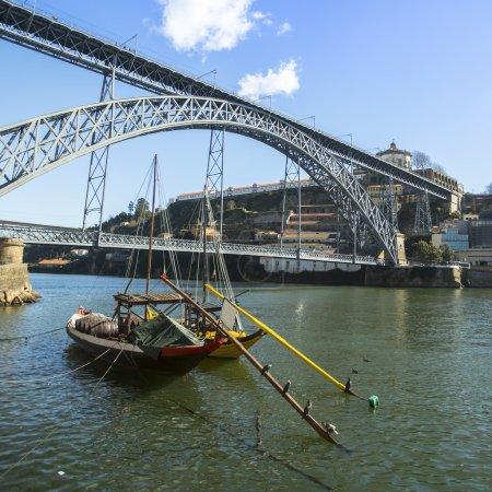 Ribeira, traditional boats