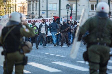 Leftist and anarchist groups