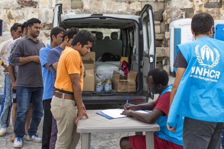 registered employees of the UNHCR