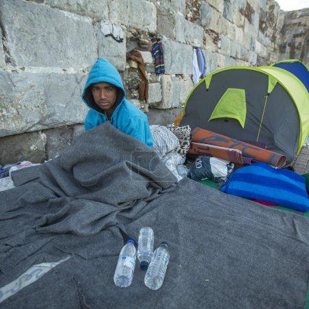 Unidentified Refugee in Kos
