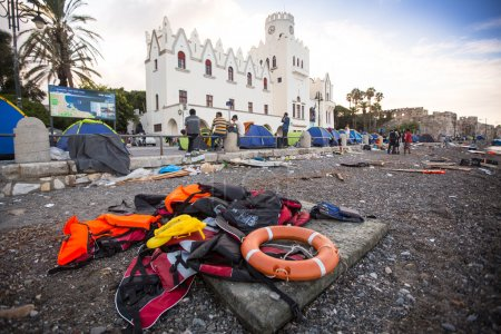Life Jackets discarded in Kos