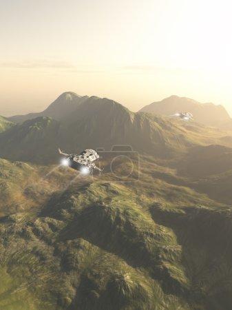 Spaceship Exploration Mission