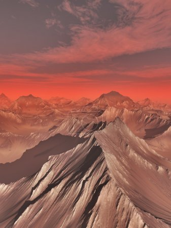 Mountains of Mars