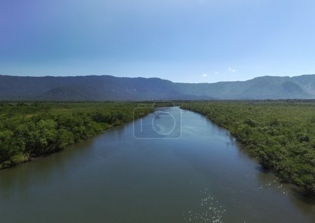 remote lake in Sao Sebastiao