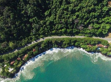 Highway in a Coastline Landscape