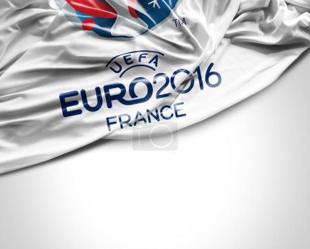 Flag with Euro 2016