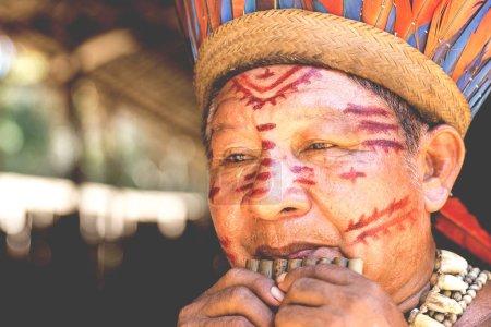 Brazilian adult indian man