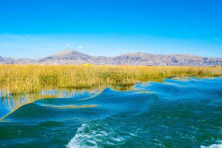 Titicaca Lake (Lago) in Puno, Peru