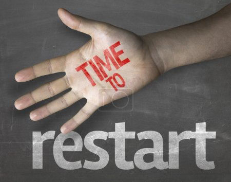 "Message ""Time to Restart"""