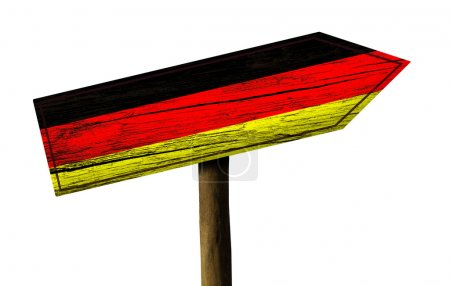 Germany wooden sign
