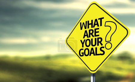 What are your goals creative sign