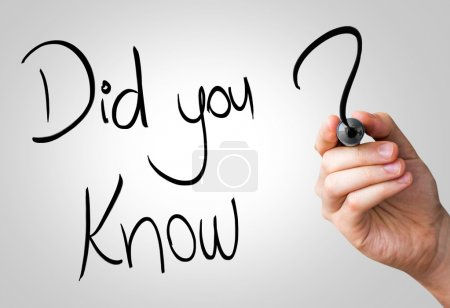 Did you know hand writing