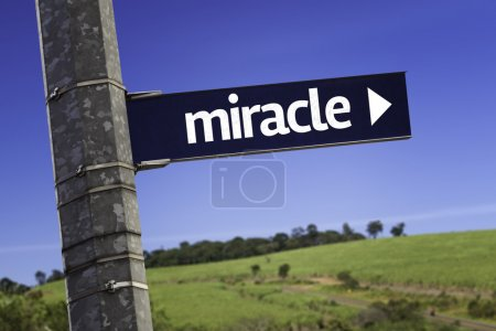 Miracle creative sign