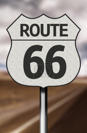 Amazing 66 Route Sign