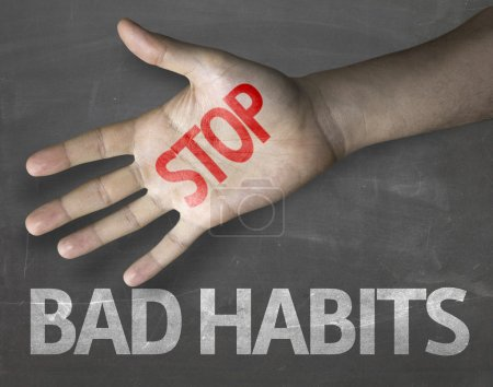 Message Stop Bad Habits