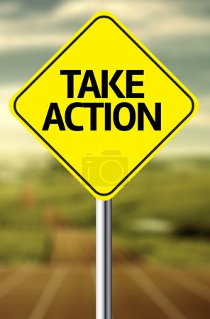 Take Action Creative sign