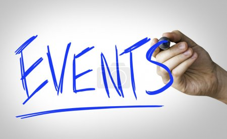 Events hand writing