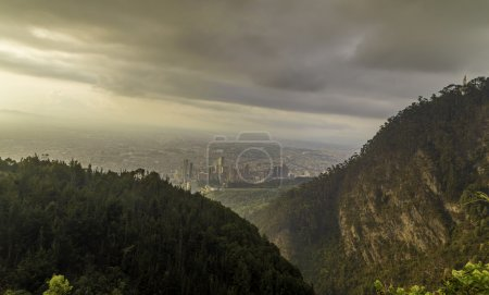 Amazing view of Bogota