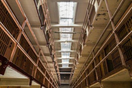 Inside of Alcatraz in San Francisco