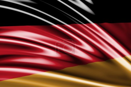 Amazing Flag of the Germany